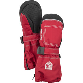 Hestra Baby Zip Long Mitaines Enfant, red